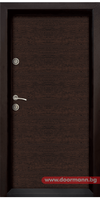 Блиндирана врата Ale Door 403, цвят Wenge