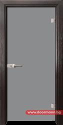 Стъклена врата модел Basic G 10 - Венге